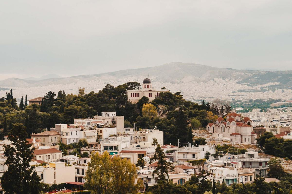 Bezienswaardigheden in Athene