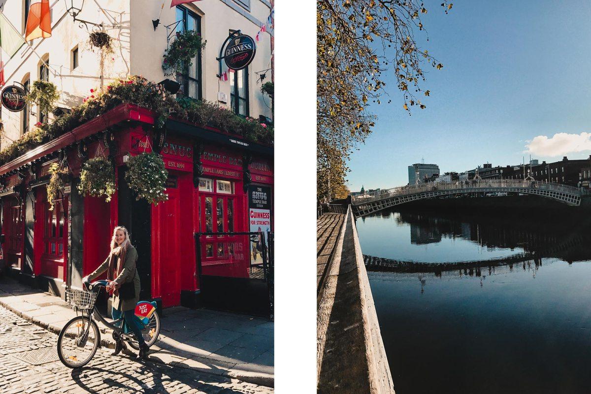 Fietstour door Dublin