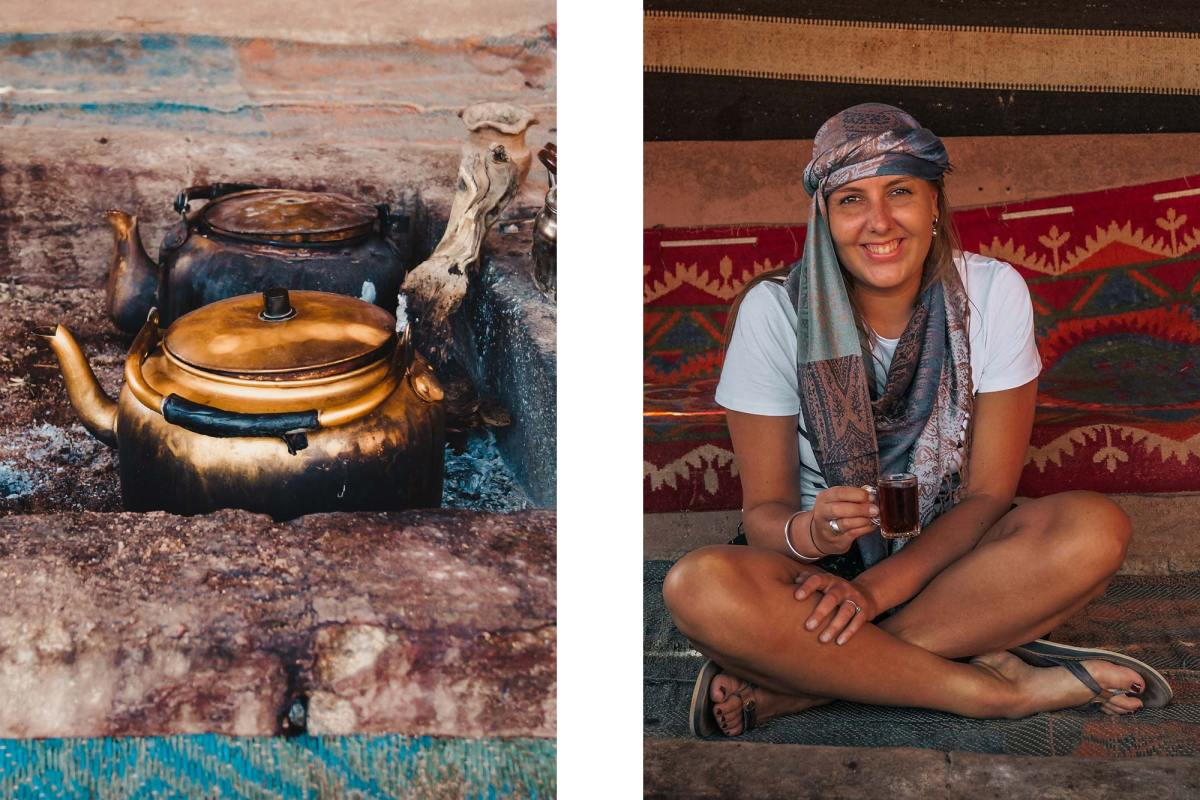 Overnachten Jordanie Wadi Rum bedoeïenen