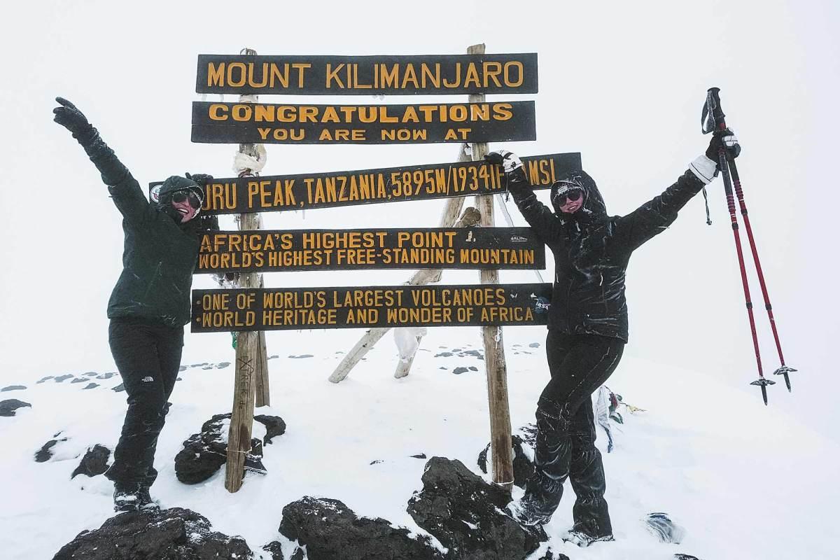 Voorbereiding Kilimanjaro beklimmen