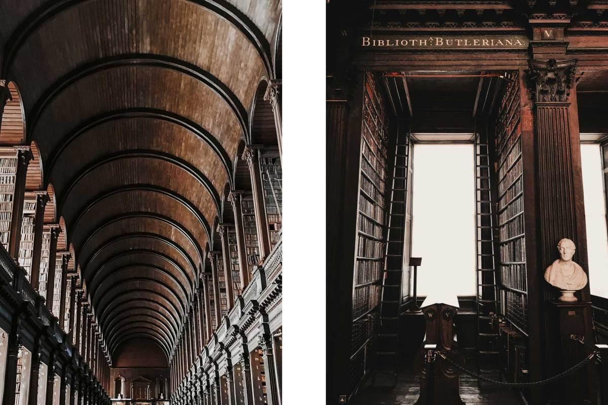 Bibliotheek Trinity College Dublin