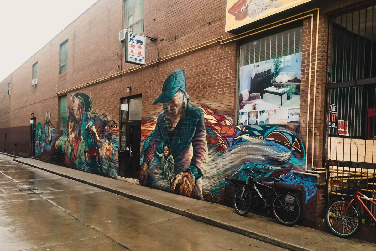 Bezoek Graffiti Alley Toronto