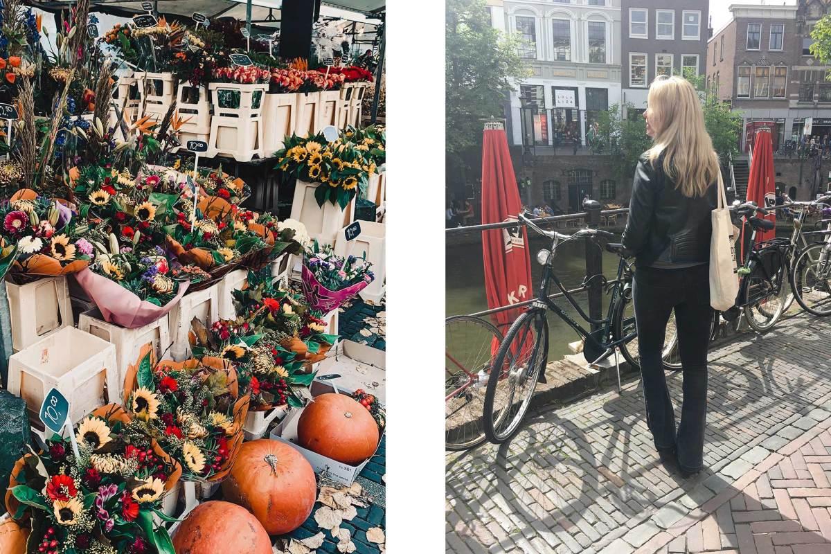 Bloemenmarkt Utrecht centrum