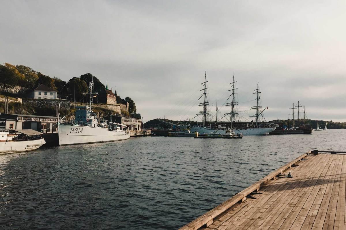 Fietstour door Oslo in Noorwegen
