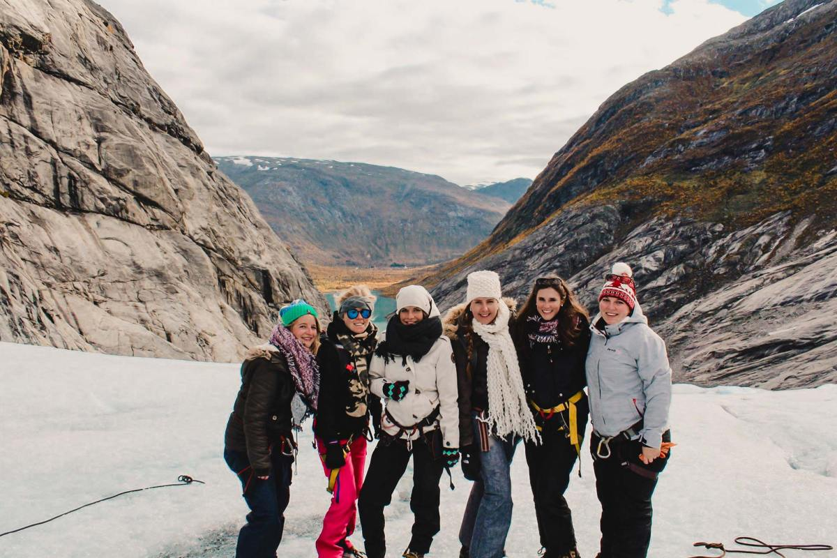 Gletsjerhike in Noorwegen