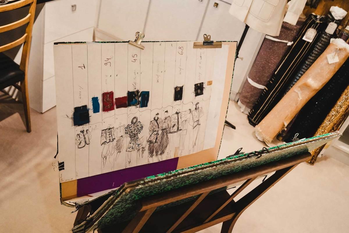 Fashion museum Yves Saint Laurent