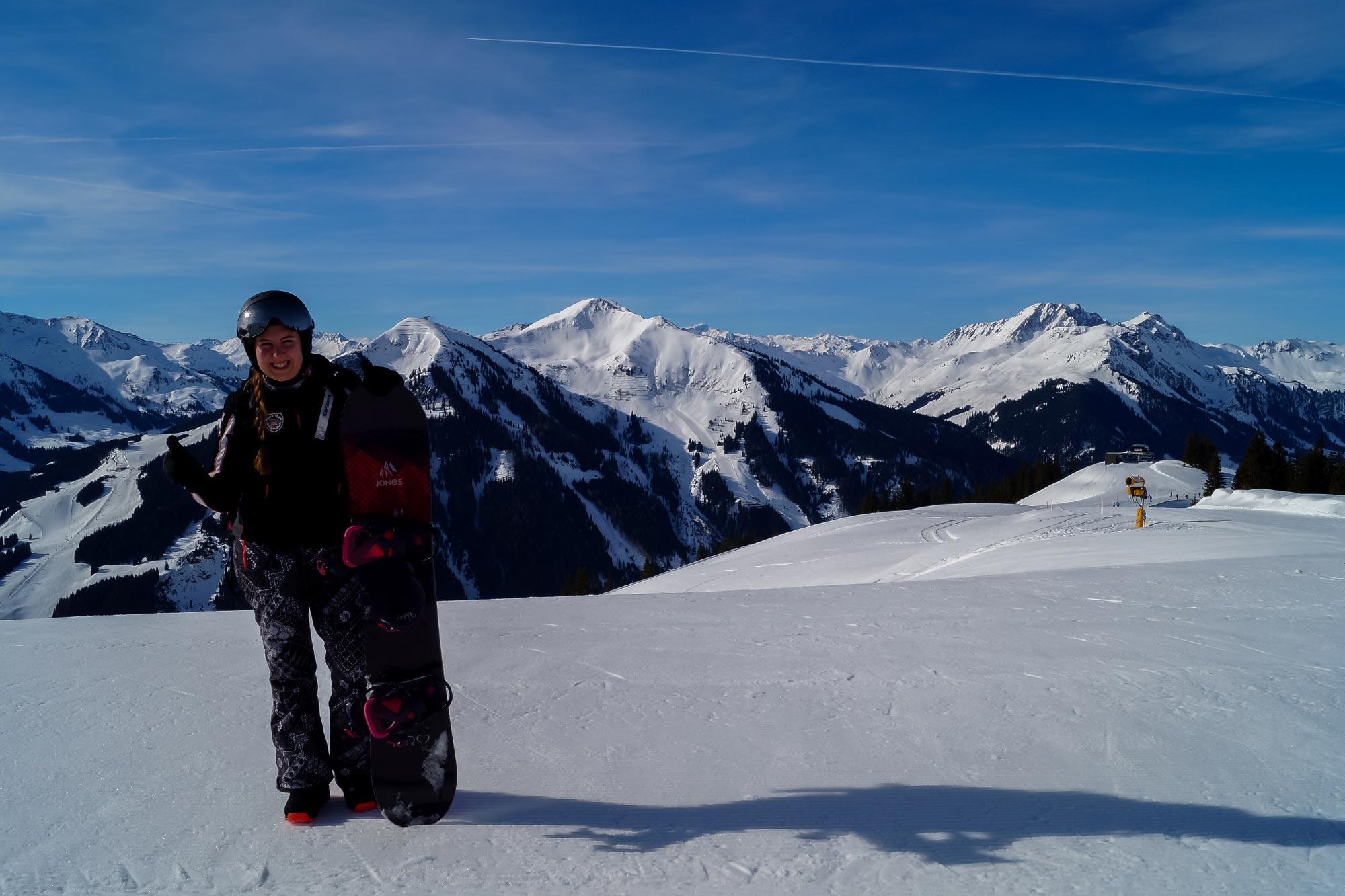 Wintersport in skicircus Saalbach-Hinterglemm