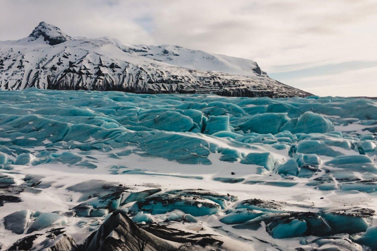 Skaftafell National Park IJsland