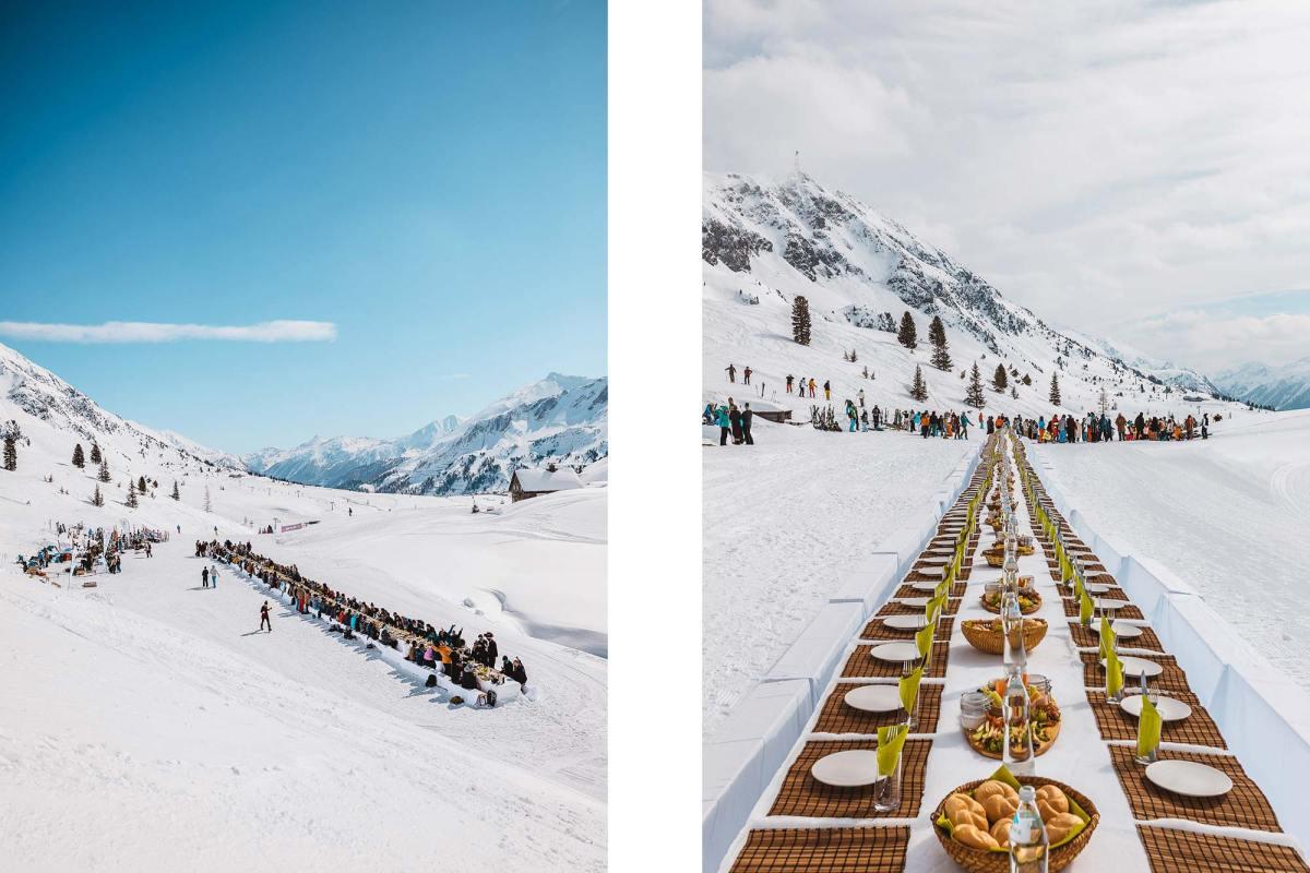 Mountain banquet The Ski Week Obertauern