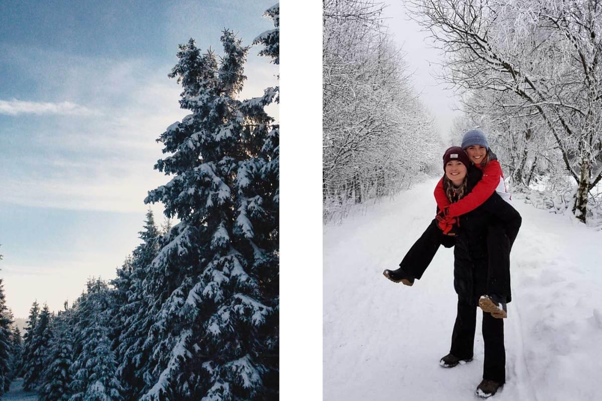 Wandelen in Winterberg Duitsland