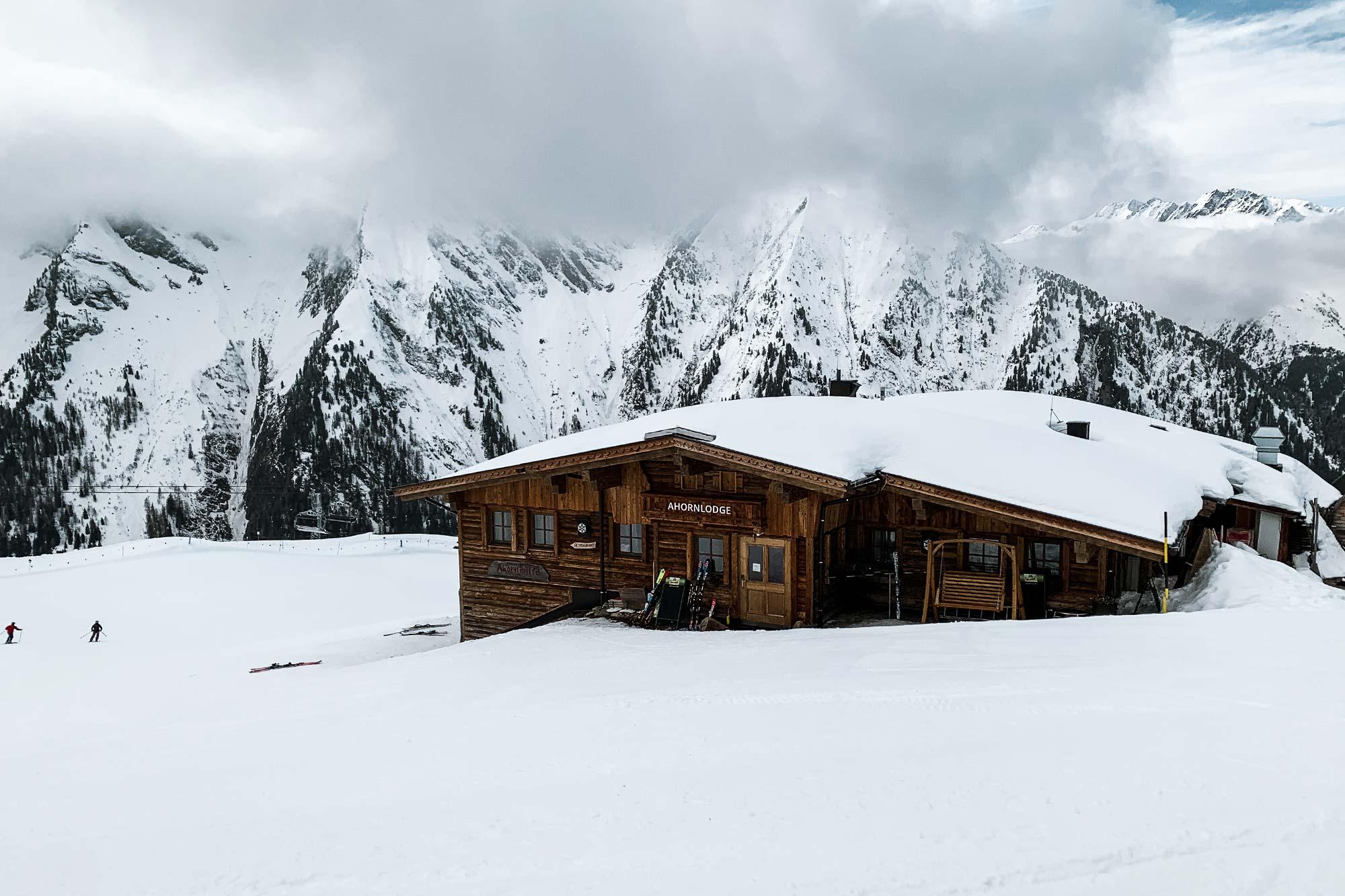 Wintersport in skigebied Mayrhofen