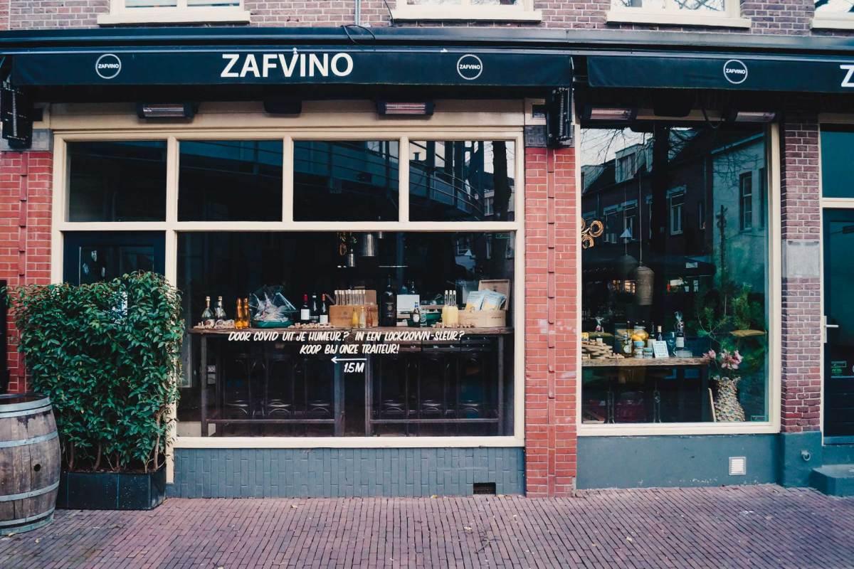 Zafvino Arnhem eten