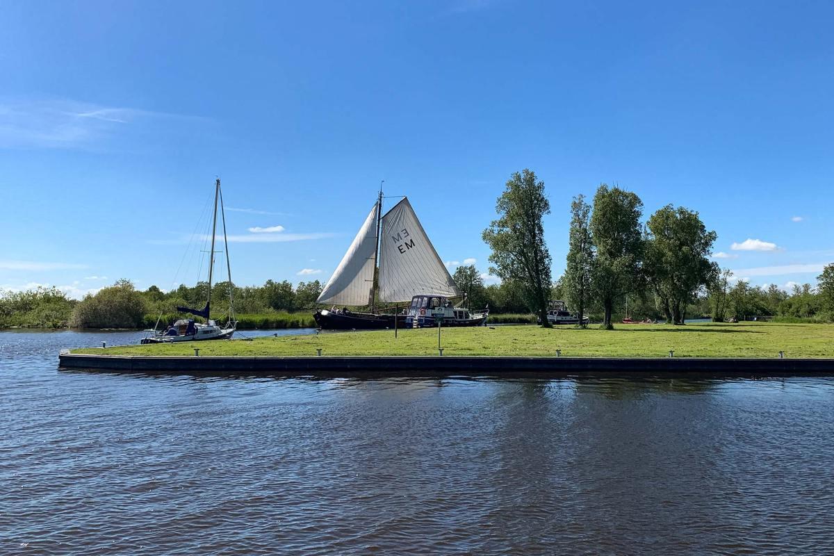 Meerdaagse trektocht Friesland