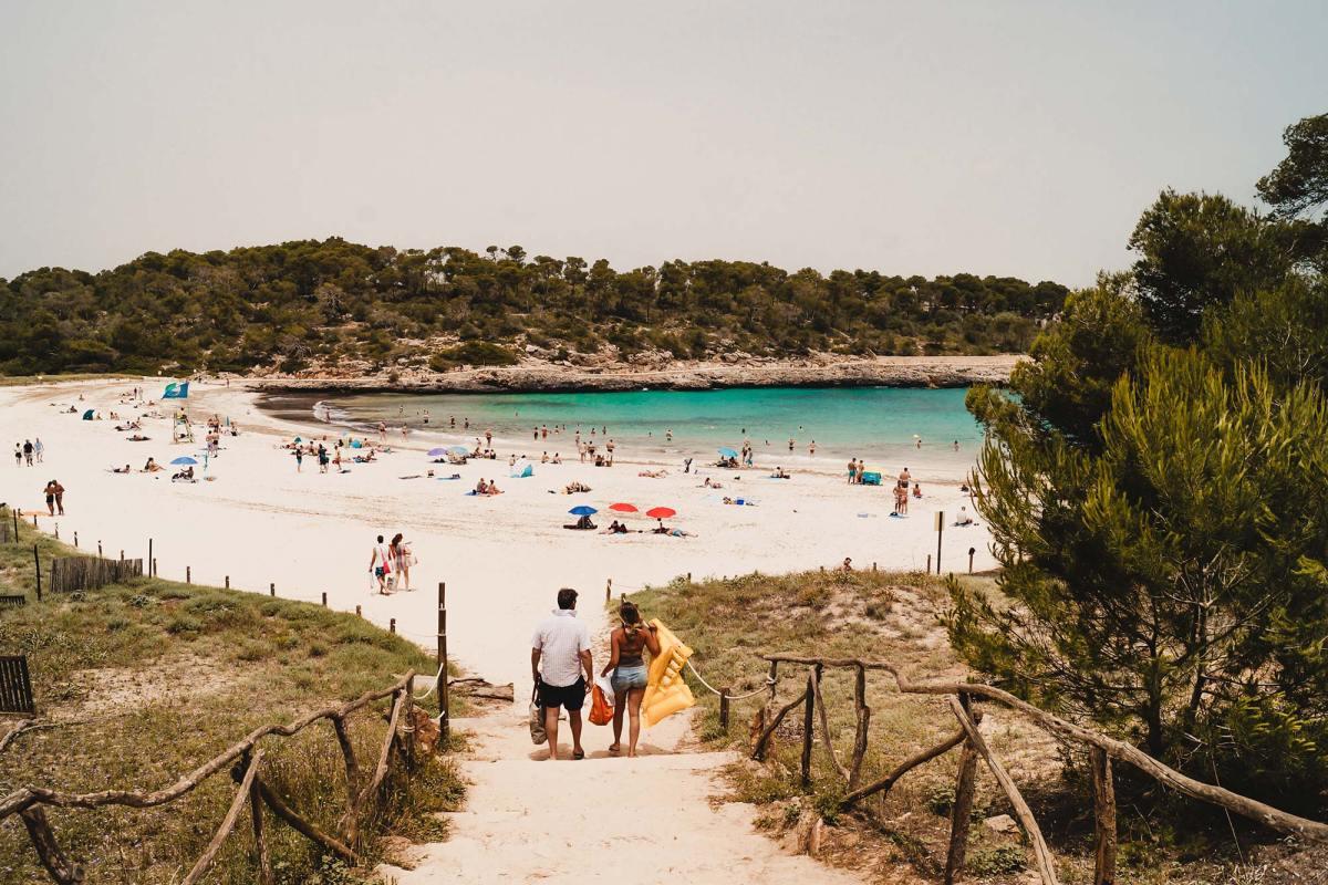 Cala S'Amarador in Mallorca