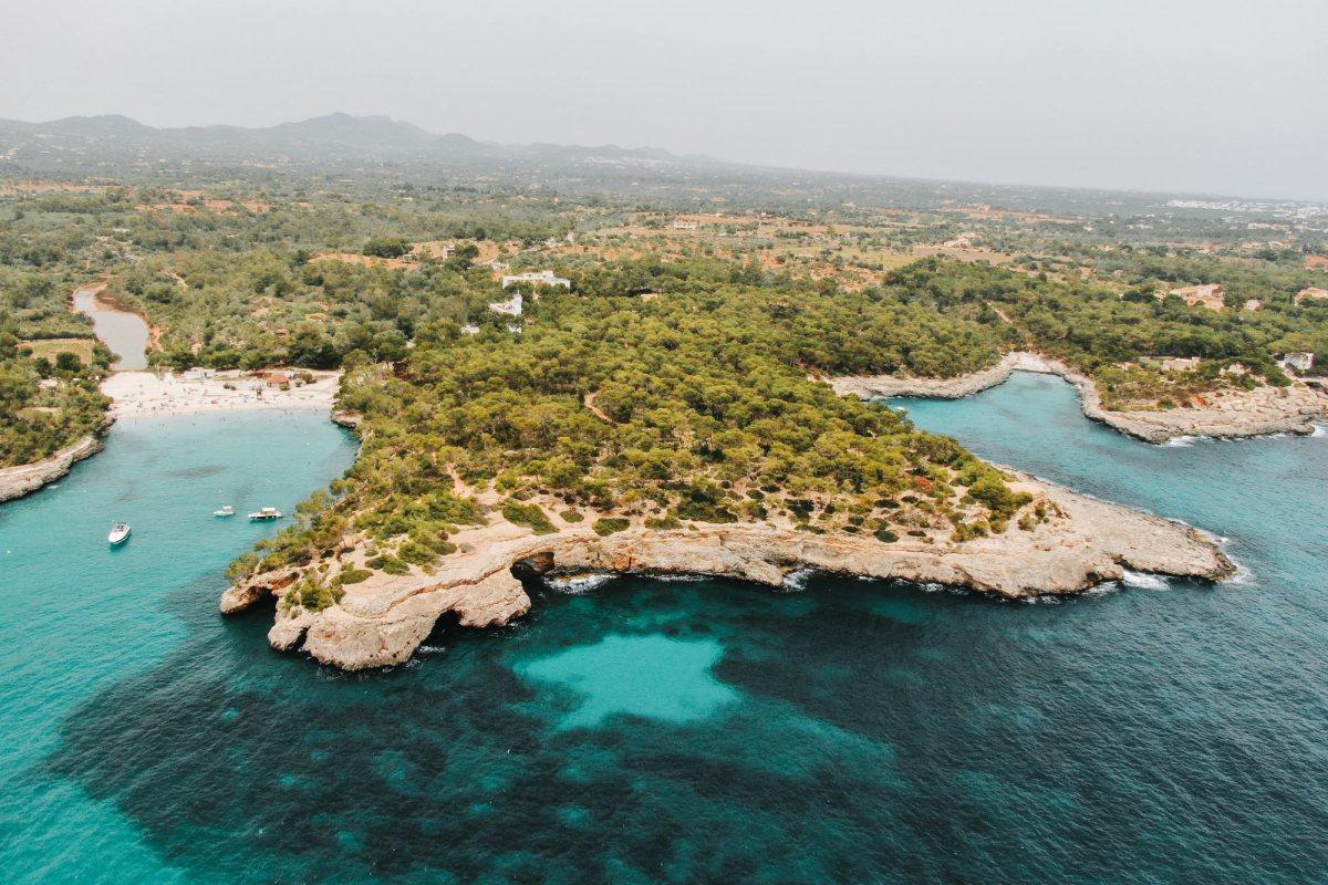 Cala Mondrago in Mallorca