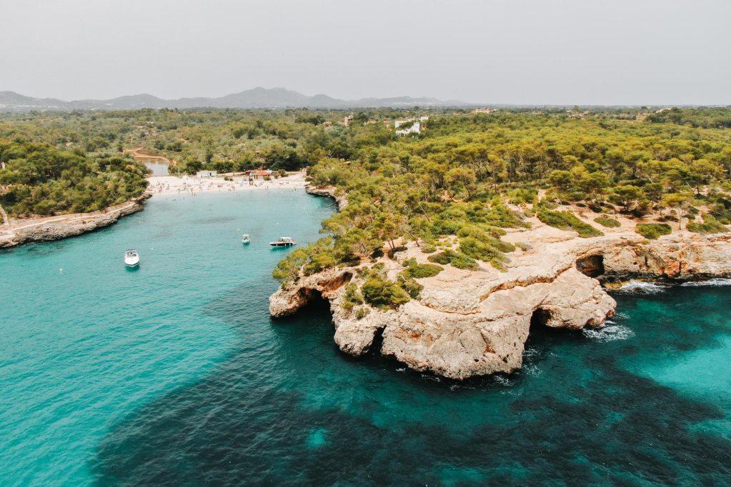 5x mooie stranden van het eiland Mallorca