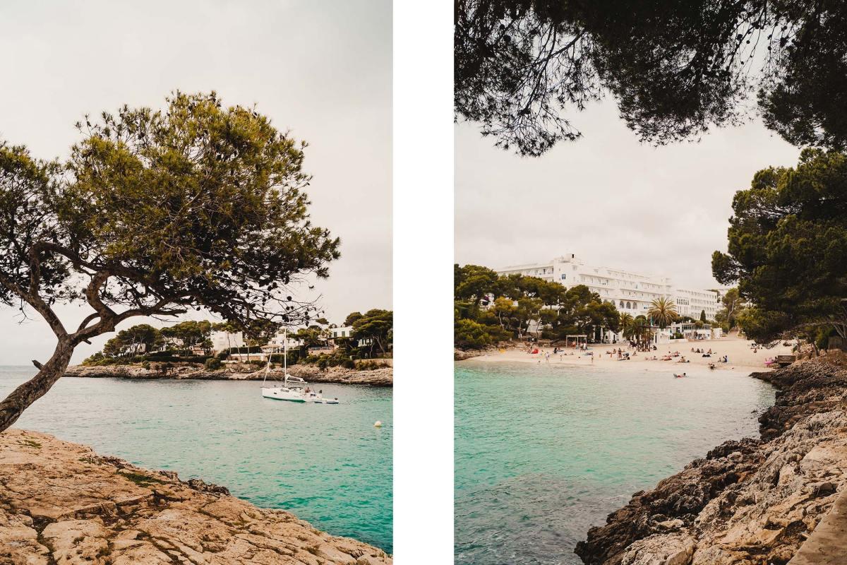 De baaien van Cala d'Or in Mallorca