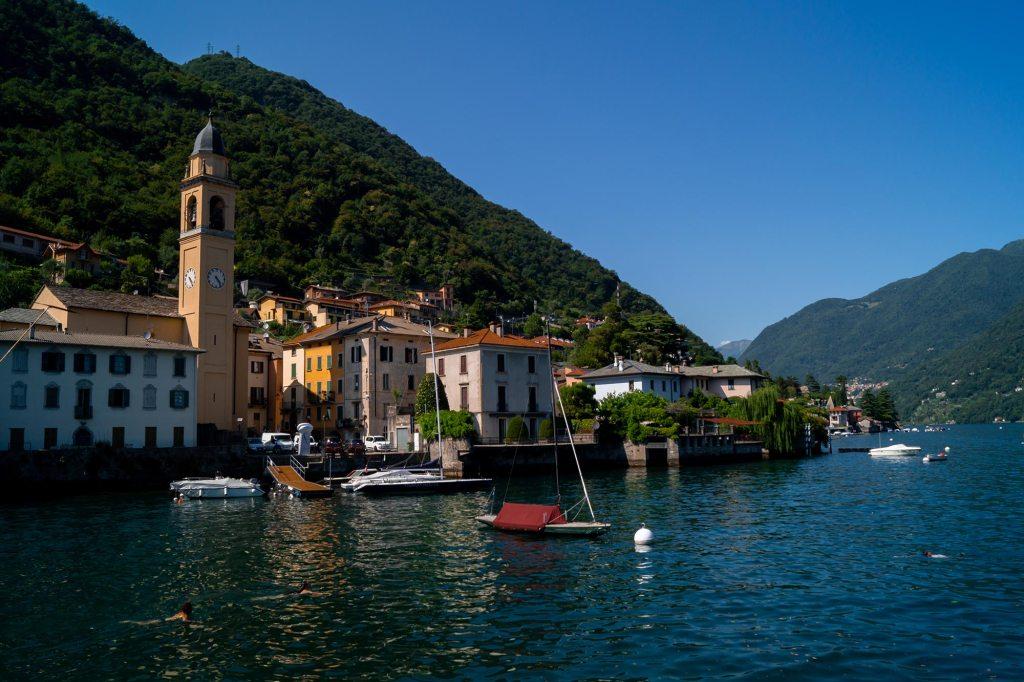 Bezoek Laglio aan het Comomeer