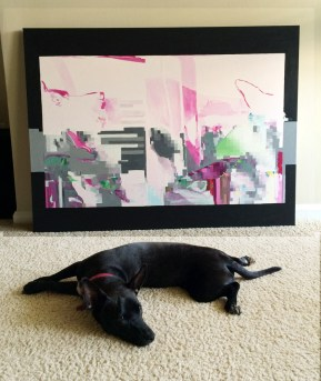 Evie_in_front_painting