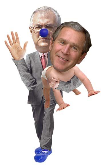 Barney Frank Spanks George Bush
