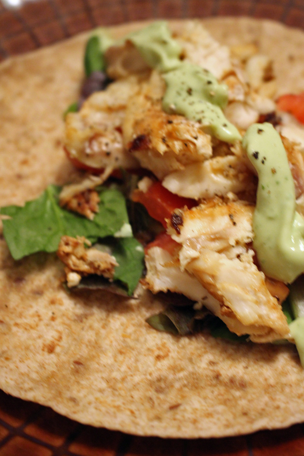 Easy fish taco recipe the new mrs hamilton for Simple fish taco recipe