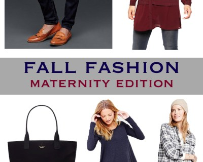 Fall Maternity Picks