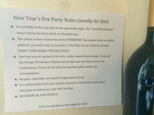 New Years Eve Rules Jim