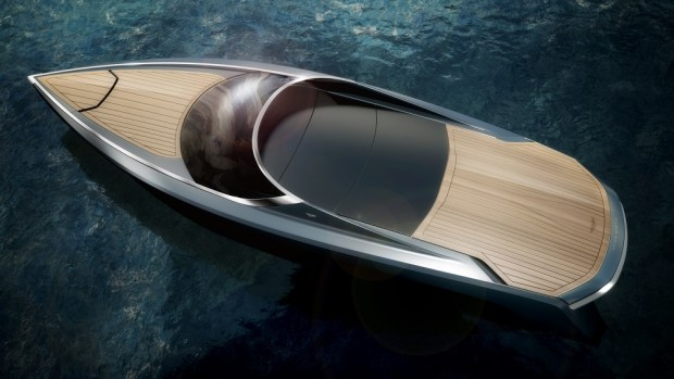 aston martin boat top closed