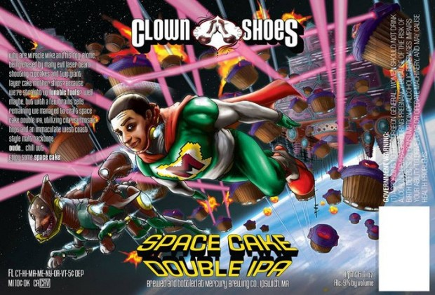 Clown_Shoes_Space_Cake_Double_IPA_Liquorscan_label