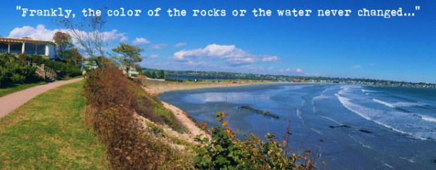 Original Photo of Newport, RI Cliffwalk by Jason Michalski