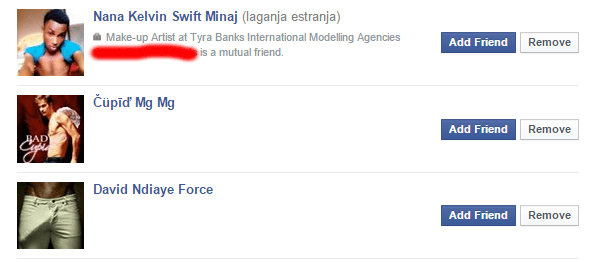 Gay Facebook Friend Suggestions