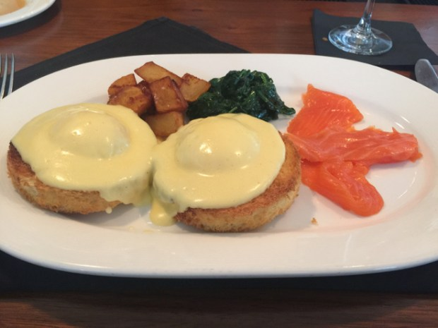 Jamestown Eggs Benedict