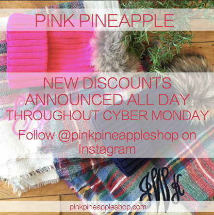 Pink Pineapple Cyber Monday