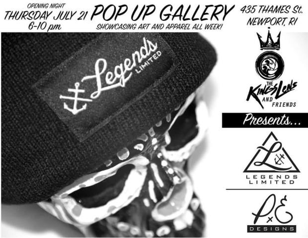 legends limited pop-up