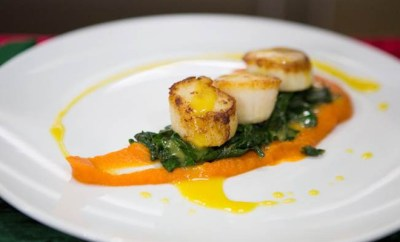 Newport, RI's Chef Kevin Des Chenes Ginger Seared Scallops Today Show