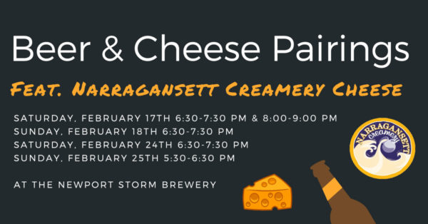 Newport Storm Cheese Beer Pairing
