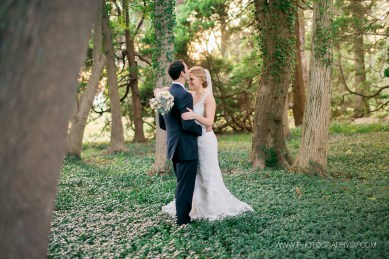 Monica and Mike a Sea Side Blithewold Wedding | The Newport Bride