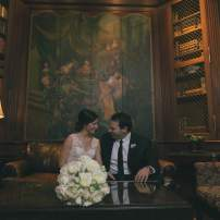 Adrienne and Patrick - A Chanler Wedding | The Newport Bride