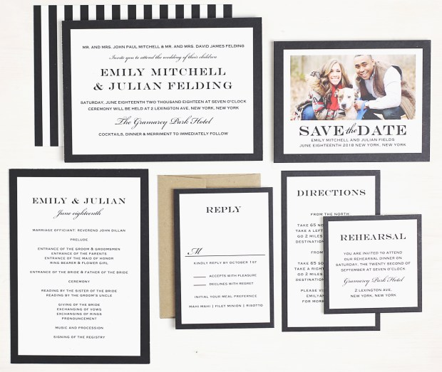 4 things to look for when choosing an invitation   The Newport Bride
