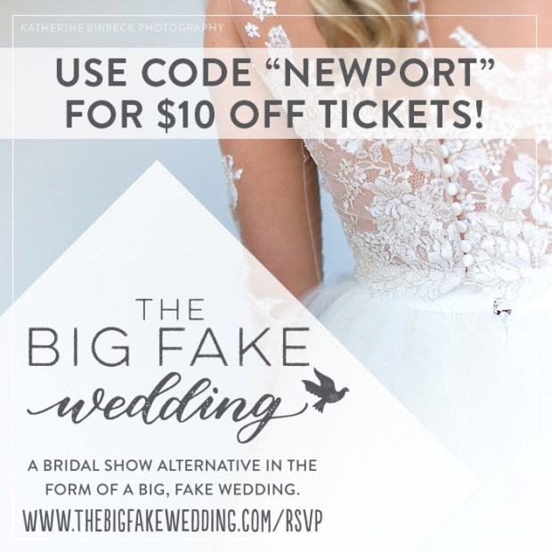 Big Fake Weding New England | The Newport Bride