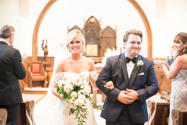 Lindsey and Anthony's Rosecliff Newport Wedding | The Newport Bride