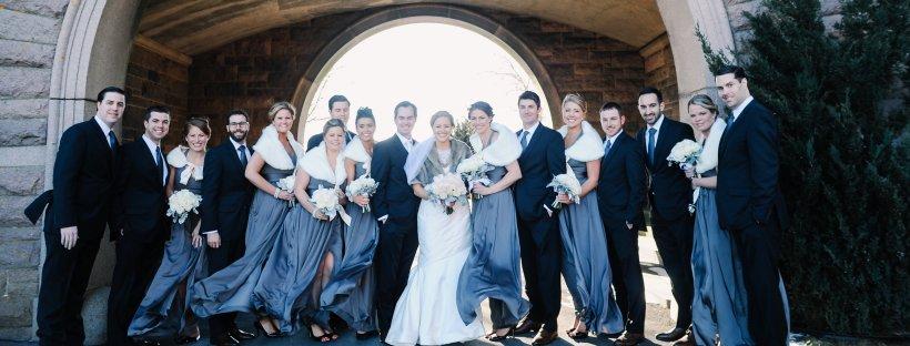 Colleen and Scott's Winter Wedding at OceanCliff   The Newport Bride