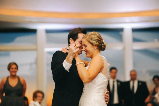 Susan and Scott's Winter Wedding at OceanCliff | The Newport Bride