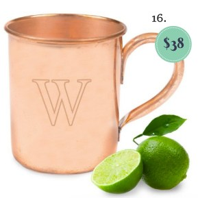 Personalized Copper Mug on the The Newport Bride Holiday Gift Guide | The Newport Bride