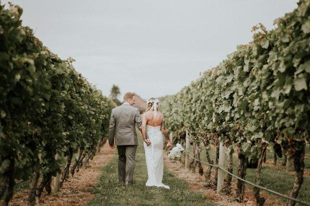Whitney and Tyler's Newport Vineyards Wedding