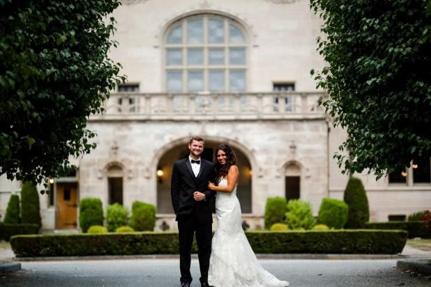 Julie and Evan's Ochre Court Wedding on The Newport Bride