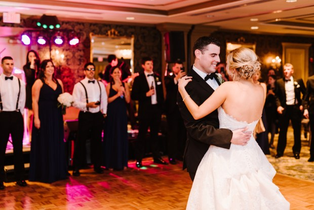 Kristin and Greg's elegant Hotel Viking Wedding