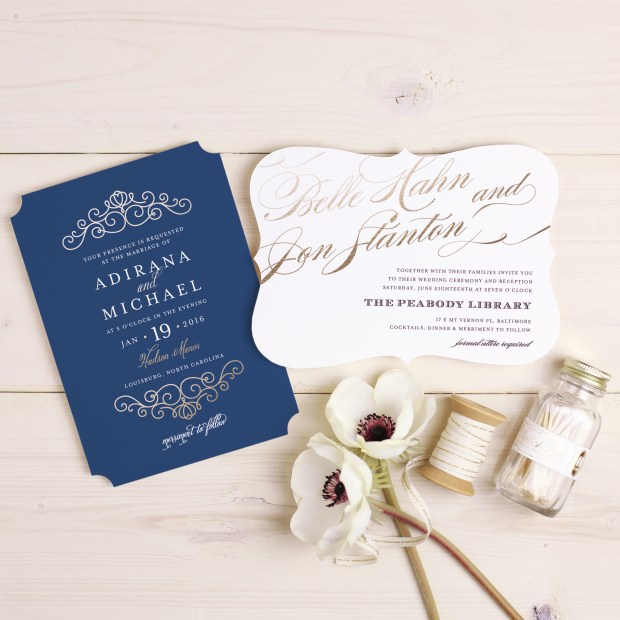 4 Fall Invitation Trends for 2017 on The Newport Bride