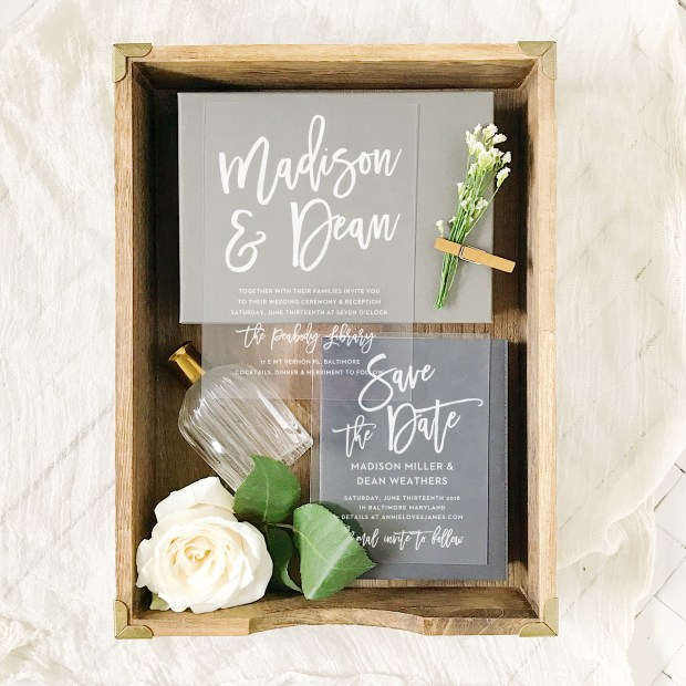 4 Invitation Trends for 2017 on The Newport Bride