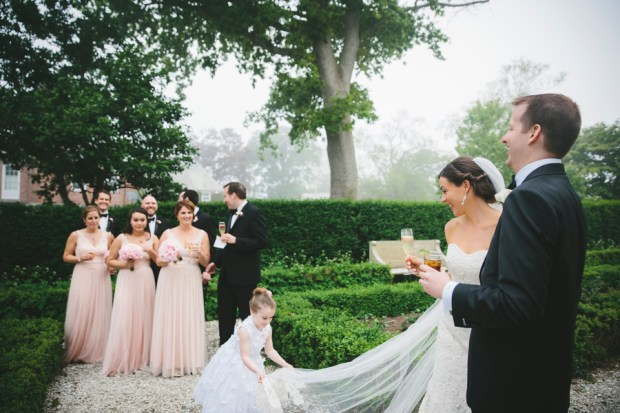 Meghan and James's Black Tie Wedding at a Historic Gilded Age Mansion